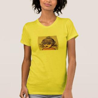Camiseta T-shirt Screeching e de explosão das senhoras