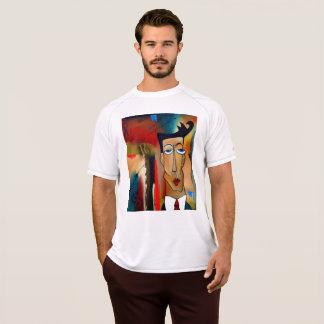 Camiseta T-shirt seco da malha do dobro do campeão dos