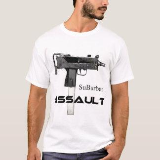 Camiseta t-shirt secundário do uzi do assalto