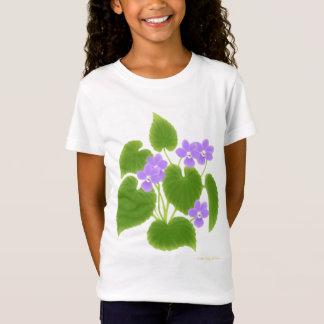 Camiseta T-shirt selvagem da boneca das meninas das