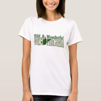 Camiseta T-shirt selvagem & maravilhoso de WV