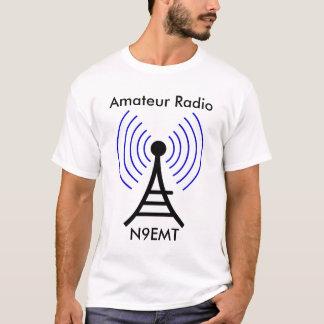 Camiseta T-shirt sem fio de rádio da torre