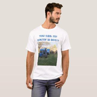 "Camiseta T-shirt ""sexy"" do trator"