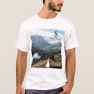 """Camiseta T-shirt silencioso da """"esperança"""" da beira"""