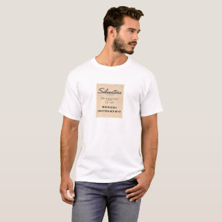 Camiseta T-shirt Silvertone do slogan