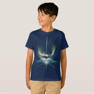 Camiseta T-shirt sleeved short do orgulho de FighterJet