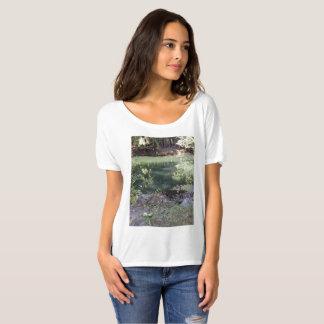 Camiseta T-shirt Slouchy do namorado da mulher com cena