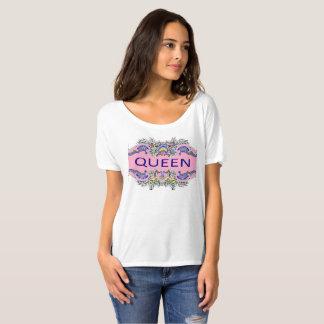 Camiseta T-shirt Slouchy do namorado da RAINHA