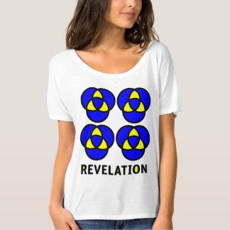 Camiseta T-shirt Slouchy do namorado das mulheres da