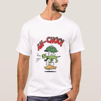 Camiseta T-shirt Sneezing da tartaruga