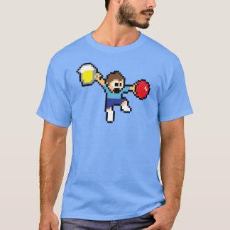 Camiseta T-shirt social de 8 bits épico de Dodgeball