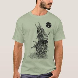 Camiseta T-shirt solitário do samurai