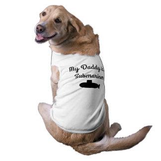 Camiseta T-shirt submarino do cão da família