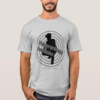 Camiseta T-shirt subterrâneo do cinza dos Beatniks