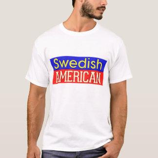 Camiseta T-shirt Sueco-Americano