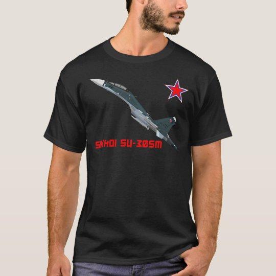 Camiseta T-shirt Sukhoi Su-30SM VKS