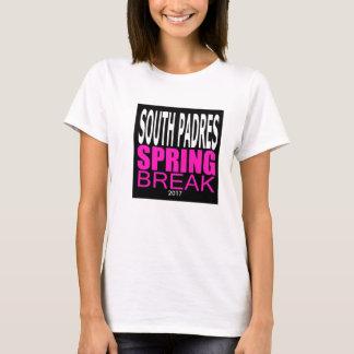 Camiseta T-shirt sul do gráfico das férias da primavera