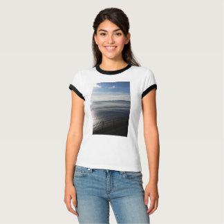Camiseta T-shirt Sunpyx da campainha das mulheres do verão