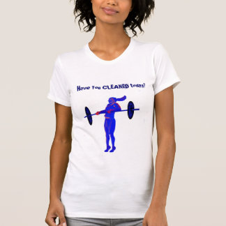 Camiseta T-shirt, t-shirt do levantamento de peso, t-shirt,