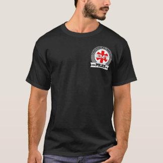 Camiseta T-shirt tático do médico