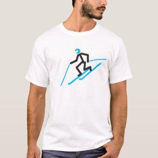 Camiseta T-shirt Tele do homem da vara