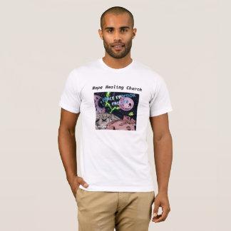 Camiseta T-shirt temático do espaço cristão da ficção