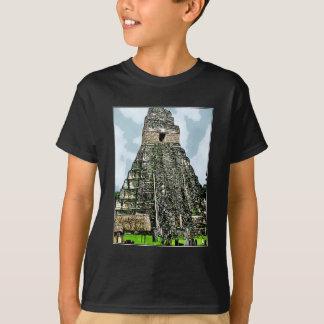 Camiseta T-shirt: Templo maia em Tikal, Guatemala