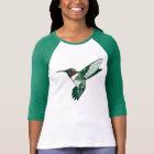 Camiseta T-shirt Throated do colibri do rubi dos desenhos