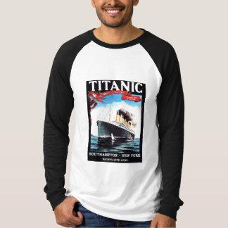 Camiseta T-shirt titânico do navio
