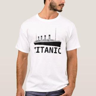 Camiseta T-shirt titânico do título
