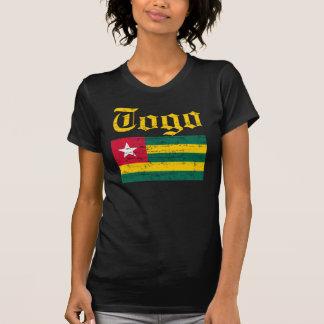 Camiseta T-shirt togolês legal da bandeira