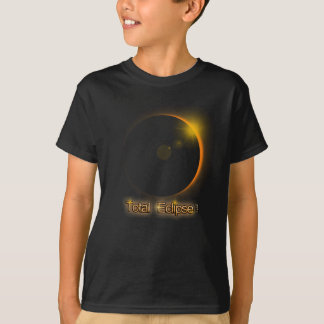 Camiseta T-shirt total do evento do eclipse solar 8-21-17