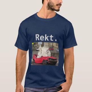 """Camiseta T-shirt totalizado Gamer do carro de """"Rekt"""""""