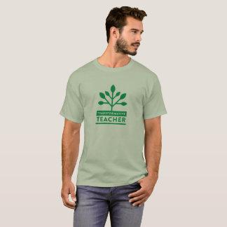 Camiseta T-shirt transformativo do professor (homens)