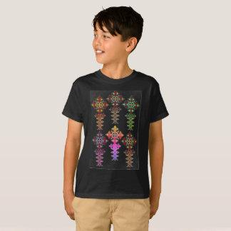 Camiseta T-shirt transversal etíope - meninos