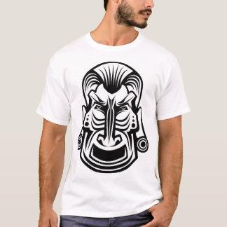 Camiseta T-shirt tribal antigo dos homens da máscara