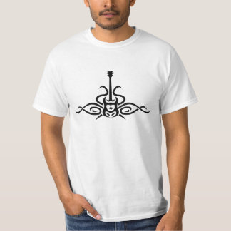 Camiseta T-shirt tribal da guitarra