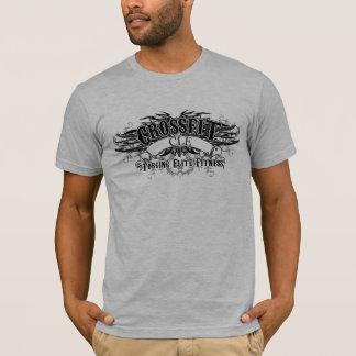 Camiseta T-shirt tribal do design (logotipo escuro com