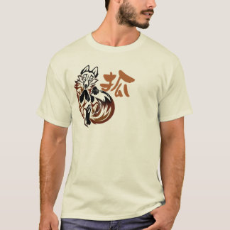 Camiseta T-shirt tribal do tatuagem do Fox