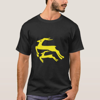Camiseta T-shirt unisex do antílope