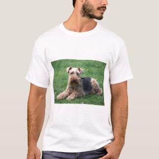 Camiseta T-shirt unisex do cão do terrier de galês, ideia