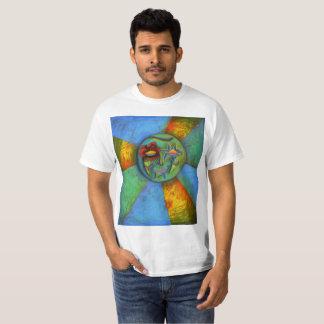 Camiseta T-shirt universal da expressão (impresso na parte