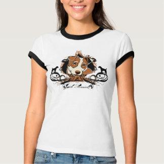 Camiseta T-shirt urbano artístico de Jack Russell Terrier