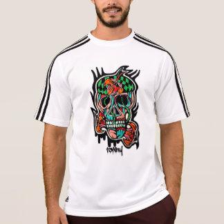 Camiseta T-shirt urbano dos grafites de Towny Adidas
