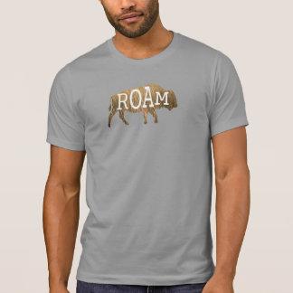Camiseta T-shirt vagueando do búfalo