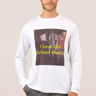 Camiseta T-shirt, velha escola