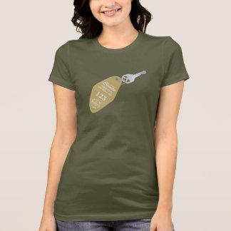 Camiseta T-shirt velho da chave do hotel de Las Vegas