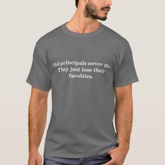 Camiseta T-shirt velho da obscuridade dos principais