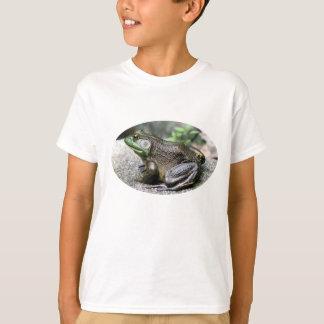 Camiseta T-shirt velho grande da natureza da rã-gigante
