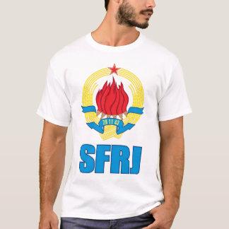 Camiseta T-shirt - veliki Grb SFRJ